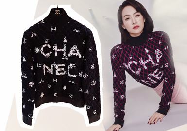Versatile and Nonchalant -- Hot Brands of Female Stars' Knitwear