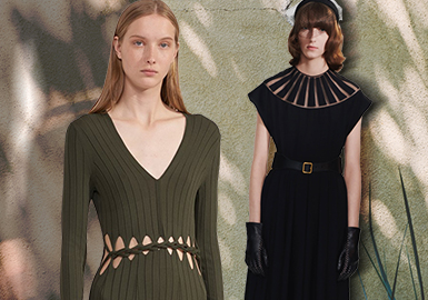 Encountering Cutout -- The Craft Trend for Women's Knitwear