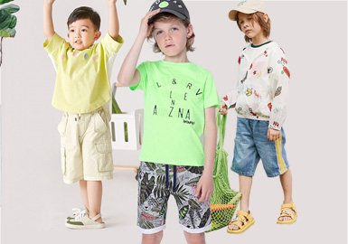 Cool Summer Days -- The Silhouette Trend for Boys' Shorts