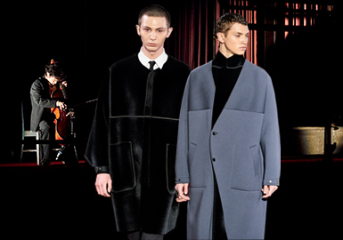 The Minimalist Commuting -- The Catwalk Analysis of N.Hoolywood Menswear