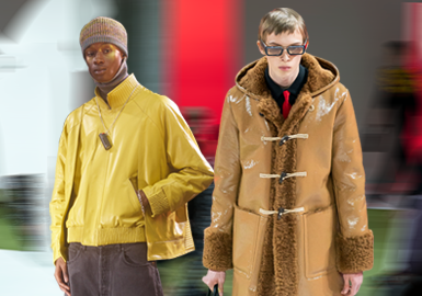Young and Fashionable -- The Comprehensive Analysis of Men's Leather/Fur on Catwalks