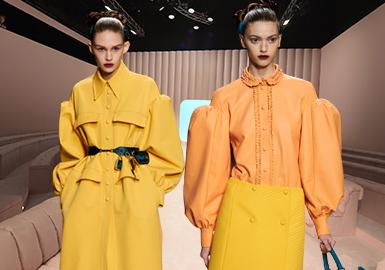 Liberating Gentle Power -- The Catwalk Analysis of Fendi Womenswear