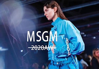 Hedonist -- The Catwalk Analysis of MSGM Womenswear
