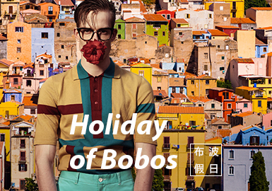 Holiday of BoBos -- The Theme Fabric Trend for Menswear