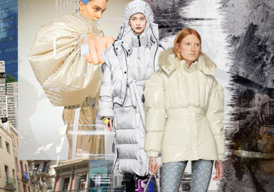 The Fluffy Appearance -- The Silhouette Trend for Women's Puffa Jackets