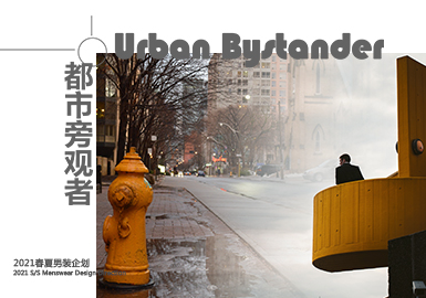 Urban Bystander -- Theme Design & Development for Menswear