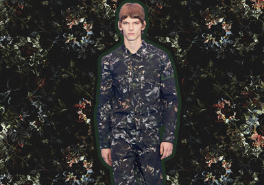 Natural Camouflage -- The Pattern Trend for Menswear