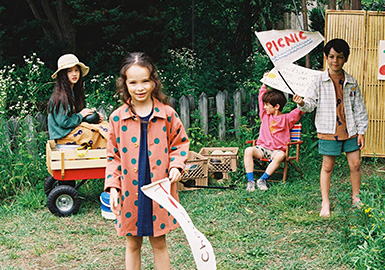 Go for a Picnic -- Jelly Mallow The Kidswear Benchmark Brand