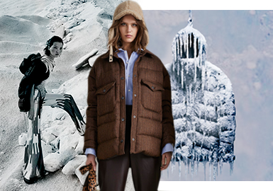 Neutrality -- The Silhouette Trend for Women's Puffa Jackets