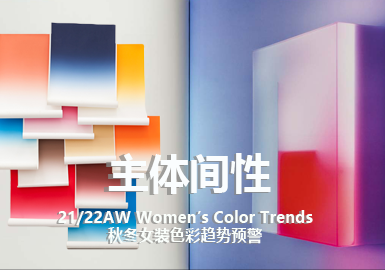 Intersubjectivity -- The Color Trend for A/W 21/22 Womenswear