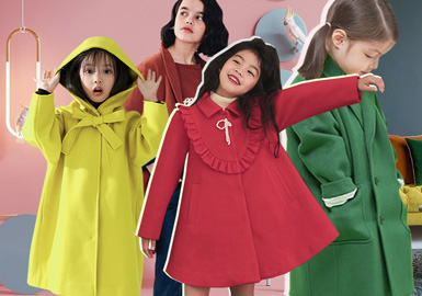Secrets of Winter Color -- The Color Trend for Girls' Overcoats