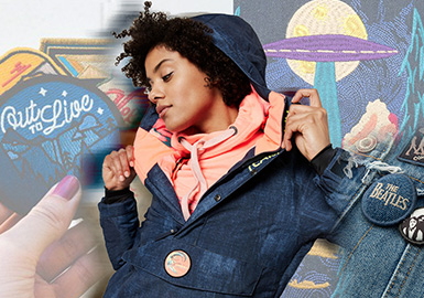Embroidery -- The Pattern Craft Trend for Women's Denim