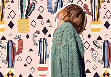 Appealing Cactus -- The Pattern Trend for Kidswear