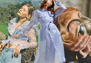 Lightweight and Transparent -- The Gauze Fabric Trend for Womenswear