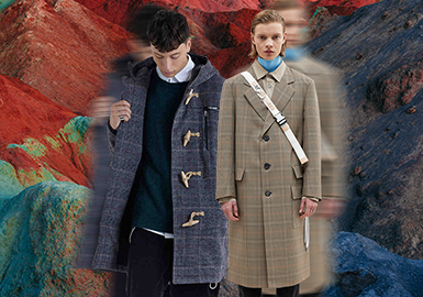 Fashion Inheritance -- The Silhouette Trend for Men's Overcoats