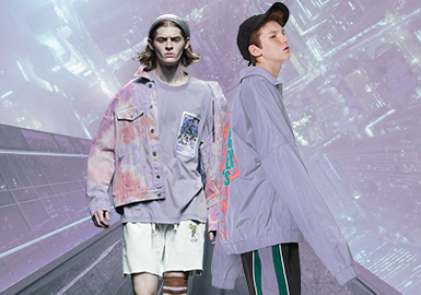 Purple Heather -- The Thematic Color Trend for Menswear