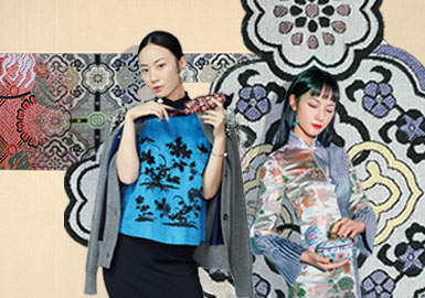Rebirth of Song Brocade -- The Pattern Trend for Womenswear Thematic Fabric