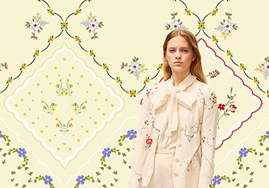 British Afternoon Tea -- The Pattern Trend for Womenswear