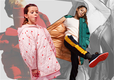 New Shapes -- The Silhouette Trend for Girls' Puffa Jackets