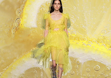 Celandine -- The Thematic Color Trend for Womenswear