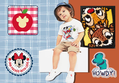 Mickey Mouse Clubhouse -- The Pattern Craft Trend for Kidswear