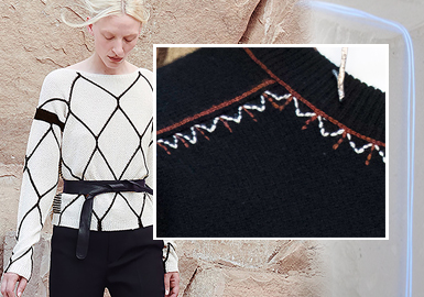 Stitches -- The Craft Detail Trend for Women's Knitwear