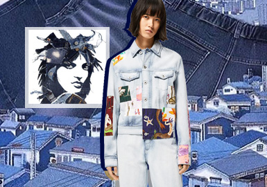 Inheritance and Upgradation -- The Pattern Craft Trend for Women's Denim