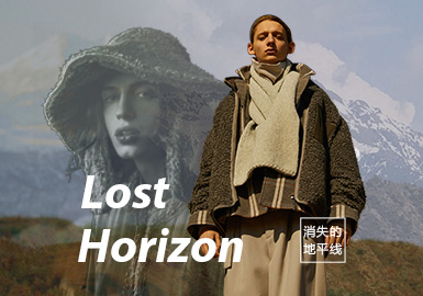 Lost Horizon -- A/W 21/22 Theme Fabric Trend for Womenswear
