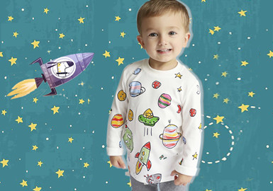 Journey to the Stars -- The Pattern Trend for Infants' Wear