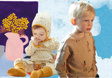 Lovely Babies in Winter -- moimoln The Kidswear Benchmark Brand