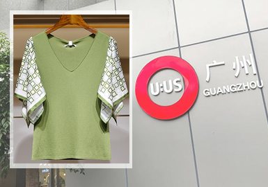 Key Design Elements -- The Analysis of Women's Knitwear in Guangzhou Wholesale Markets