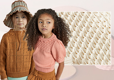 Practical Stitch -- The Craft Trend for Girls' Knitwear