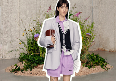 Blooming Flowers -- The Analysis of MSGM Womenswear