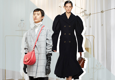 Silhouette Evolution of Women's Overcoats