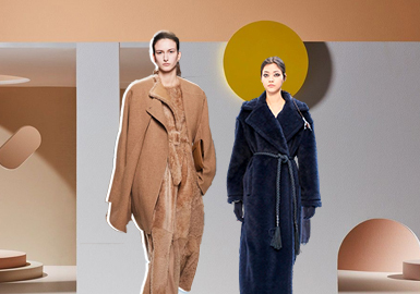 Interpreting Elegance -- The Silhouette Trend for Women's Leather and Fur Clothing