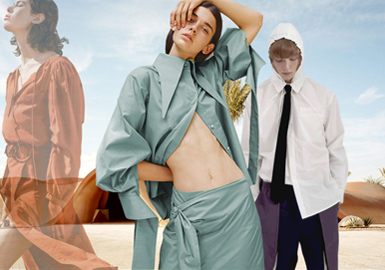 Natural and Artistic -- The Color Trend for Men's and Women's Cotton and Linen