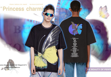 Butterfly Effect in the Fashion Industry -- The Pattern Trend for Menswear