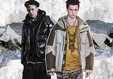Dynamic Winter -- The Fabric Trend for Men's Puffa Jackets