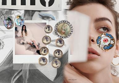 Retro Decorative Buttons -- The Accessory Trend for Womenswear