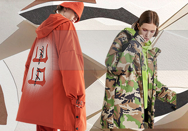 Visual Fashion -- The Pattern Trend for Women's Parkas