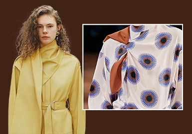 Voluminous Wrapped Design -- The Craft Detail Trend for Womenswear