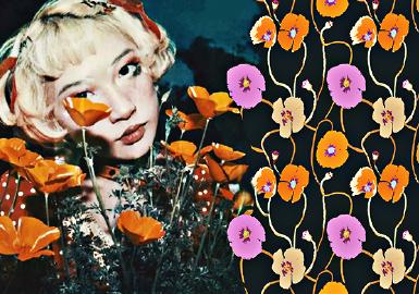 Floral Specimen -- The Pattern Trend for Womenswear
