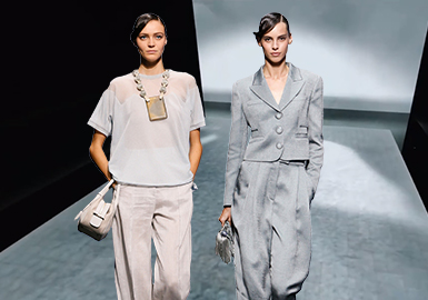 Timeless Thoughts -- The Catwalk Analysis of Giorgio Armani Womenswear