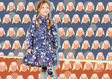 Flying Birds -- The Pattern Trend for Kidswear