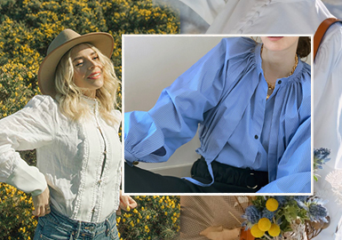 Plackets -- The Craft Detail Trend for Women's Shirts