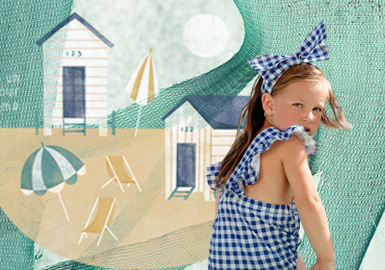 Beach Outing -- Theme Design and Development of Infants' Wear