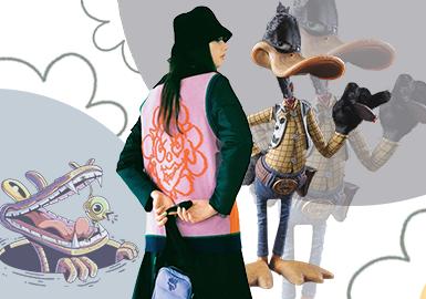 A Fun Space -- The Pattern Trend for Women's Knitwear
