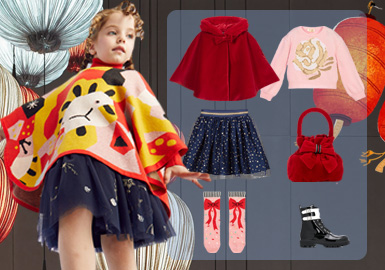 Welcome the New Year -- Clothing Collocation for Festival Kidswear