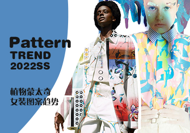 Plant Montage -- The Pattern Trend for Womenswear