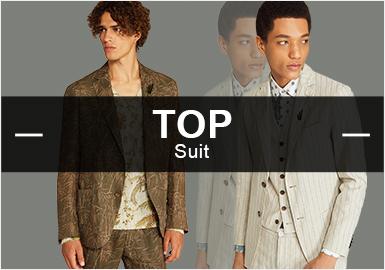 Suit -- S/S 2019 Hot Items in Menswear Market